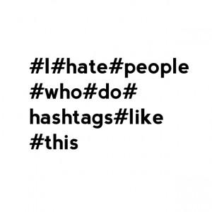hashtaghate